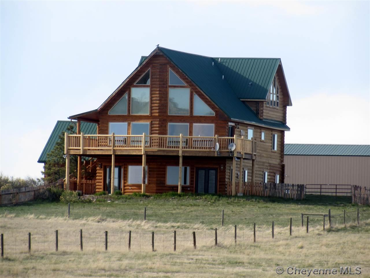 Single Family Home for Sale at 2474 Road 218 Cheyenne, Wyoming United States