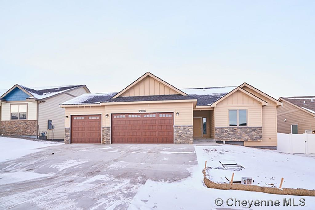 Single Family Home for Sale at 3625 Purple Sage Rd Cheyenne, Wyoming United States