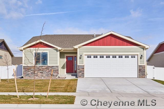Single Family Home for Sale at 3712 Sowell St Cheyenne, Wyoming United States