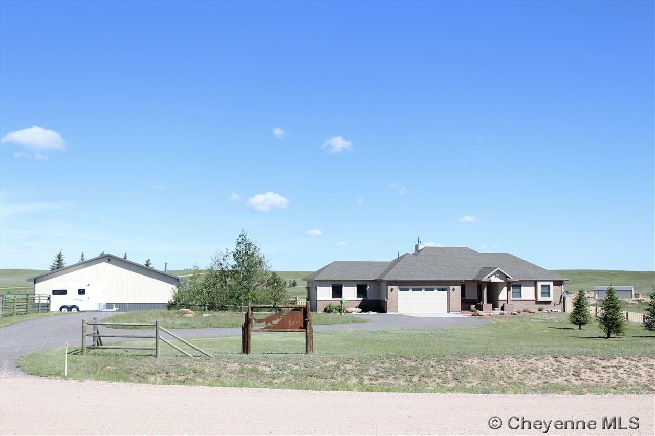 Single Family Home for Sale at 5908 Foxhill Rd Cheyenne, Wyoming United States