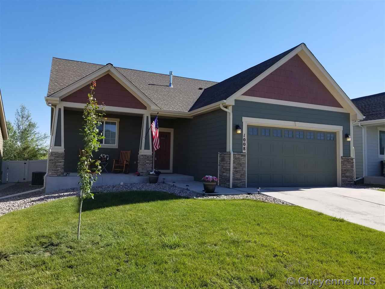 Single Family Home for Sale at 1008 Wendy Ln Cheyenne, Wyoming United States