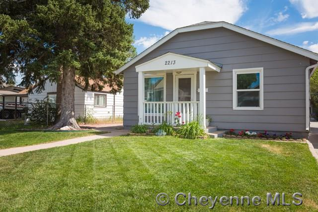 Single Family Home for Sale at 2213 E 12th St Cheyenne, Wyoming United States
