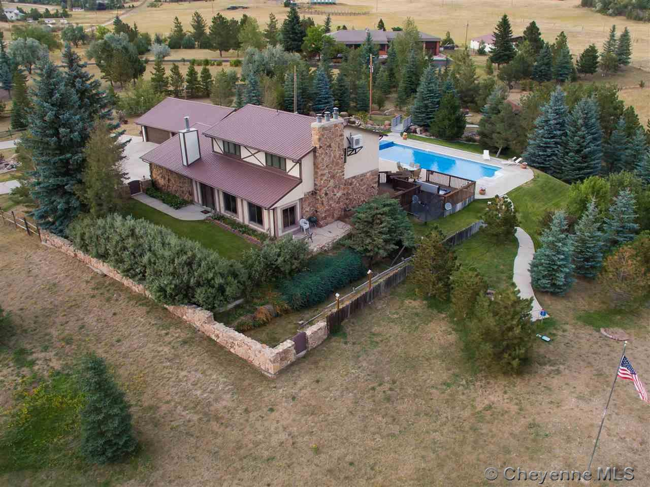 Single Family Home for Sale at 9501 Mason Rd Cheyenne, Wyoming United States