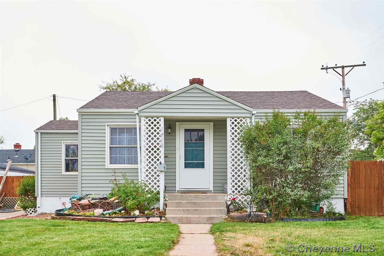 Single Family Home for Sale at 1710 Rollins Ave Cheyenne, Wyoming United States