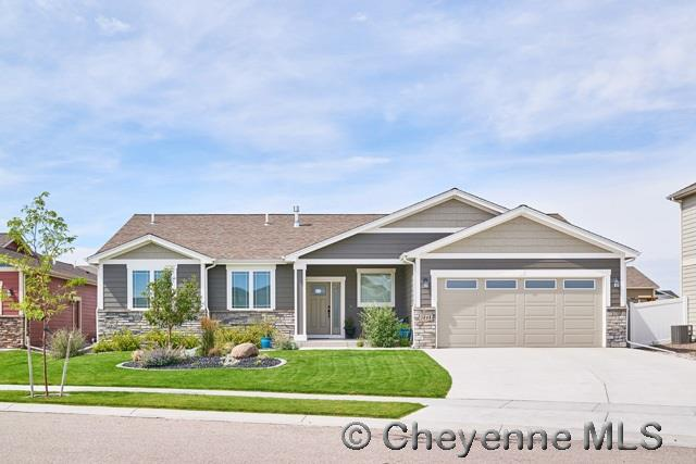 Single Family Home for Sale at 1008 Alyssa Way Cheyenne, Wyoming United States