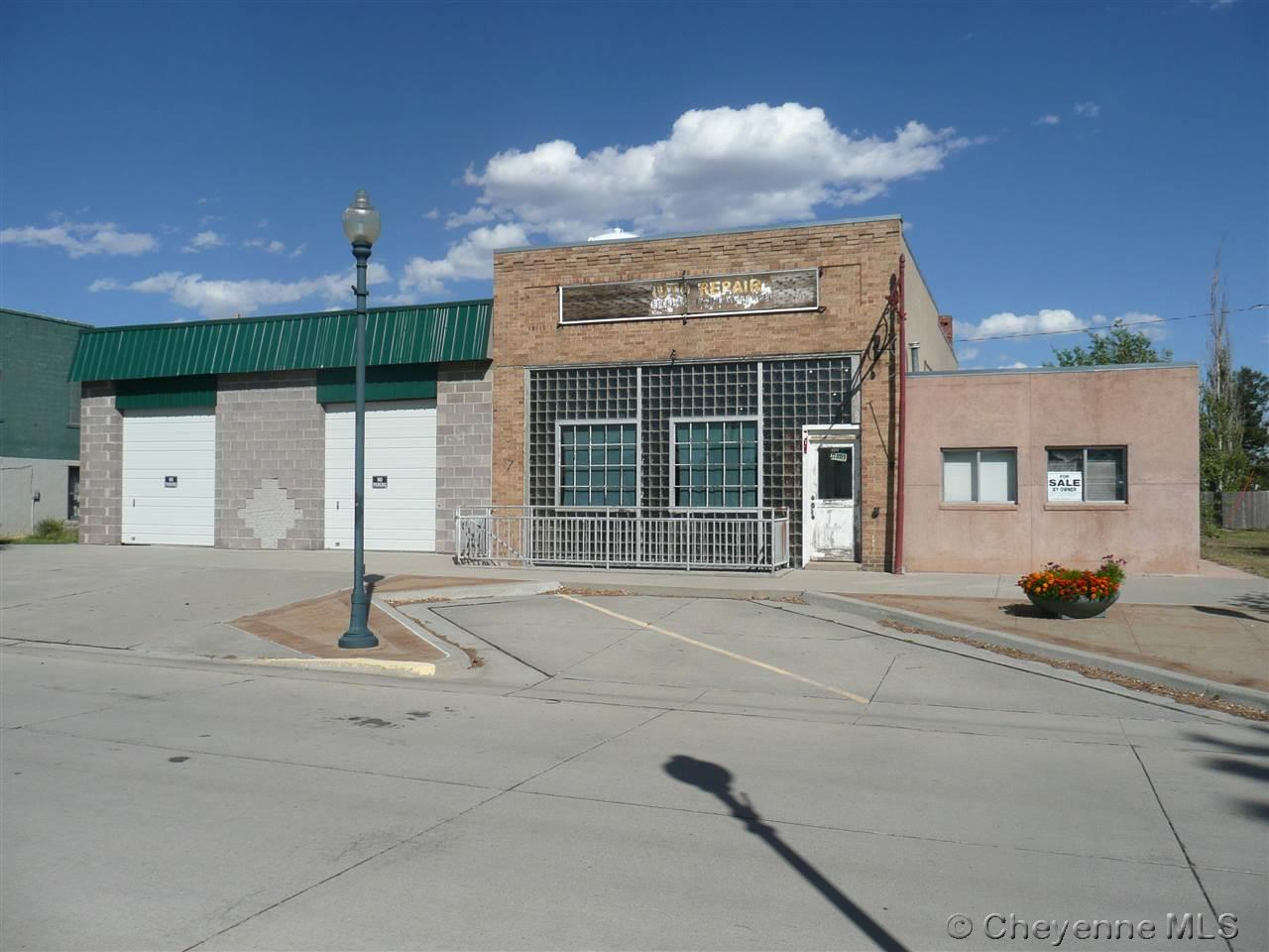 Commercial for Sale at 117 & 115 Main St 117 & 115 Main St Burns, Wyoming 82055 United States