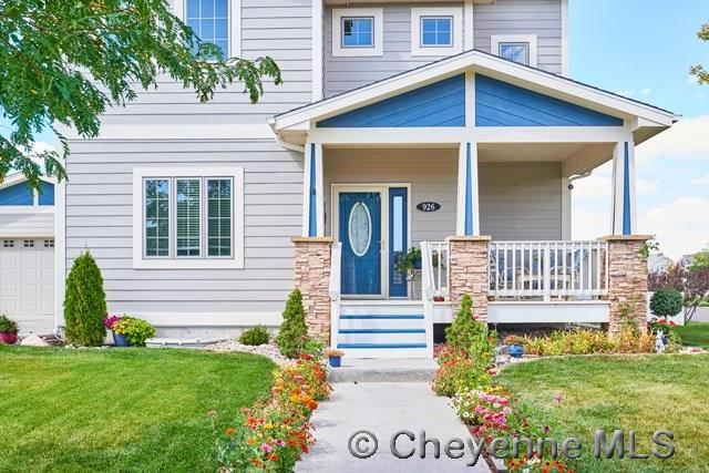 Single Family Home for Sale at 926 Miracle Parkway Cheyenne, Wyoming United States