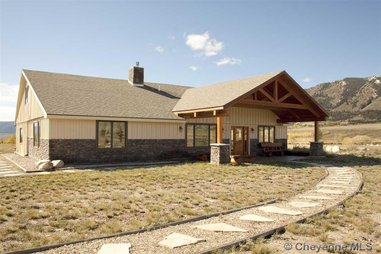 Single Family Home for Sale at 14 Old Sawmill Rd Centennial, Wyoming United States