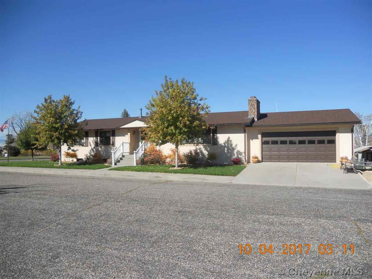 Single Family Home for Sale at 1256 Mitchell St Wheatland, Wyoming United States