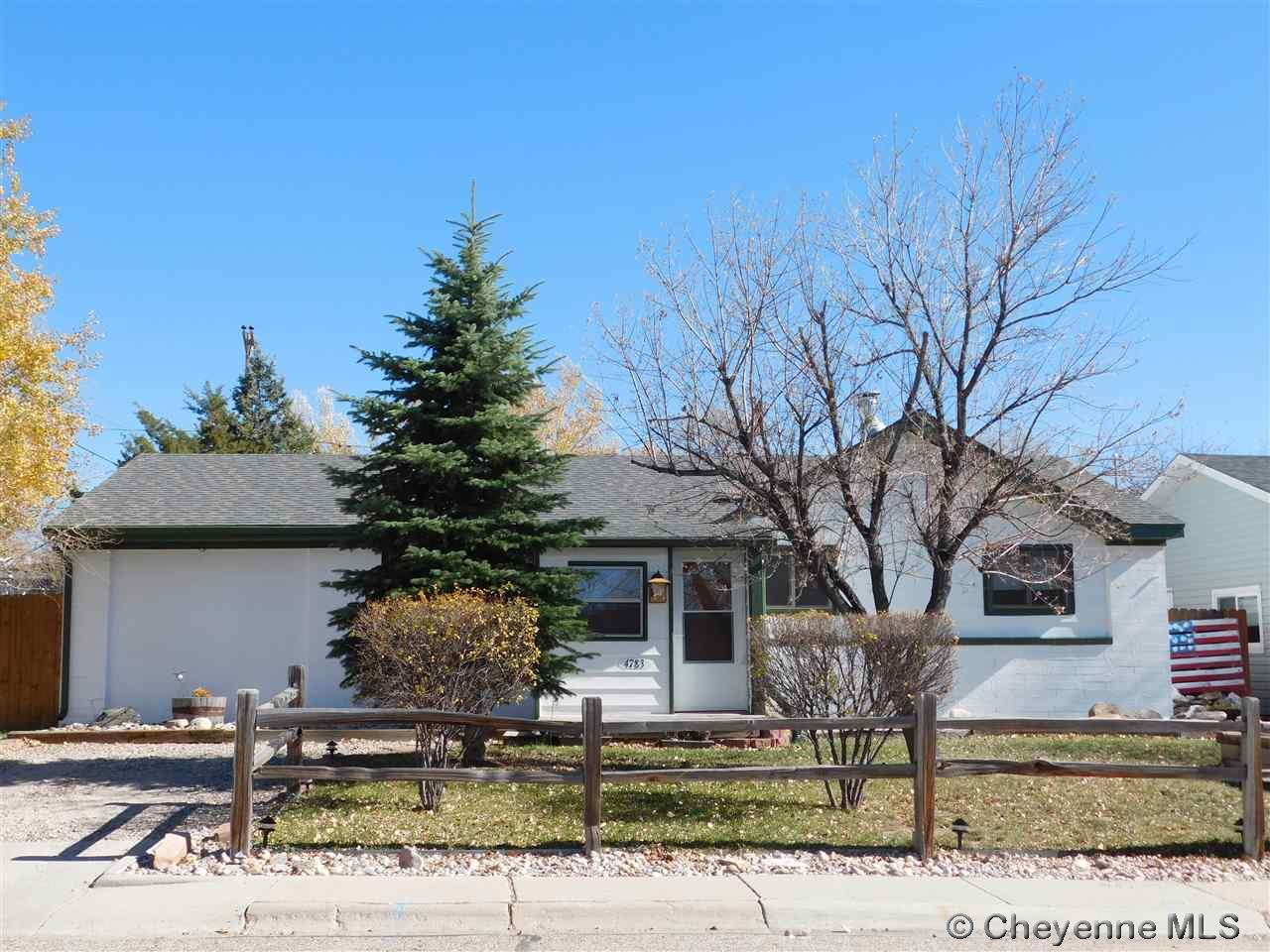 Single Family Home for Sale at 4783 Moran Ave Cheyenne, Wyoming United States