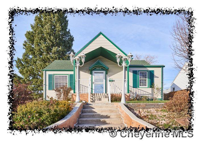 Single Family Home for Sale at 822 W 2nd Ave Cheyenne, Wyoming United States