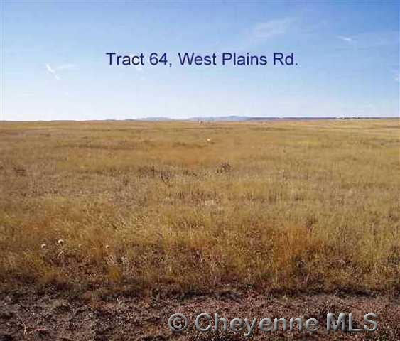 Land for Sale at Tract 64 West Plains Rd Tract 64 West Plains Rd Cheyenne, Wyoming 82009 United States