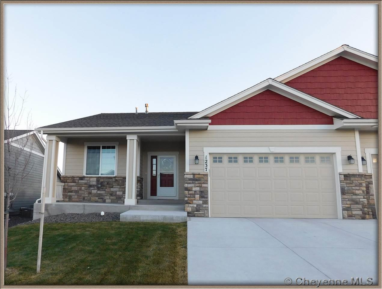 Single Family Home for Sale at 1237 Alyssa Way Cheyenne, Wyoming United States