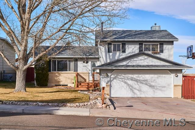 Single Family Home for Sale at 640 Lafayette Blvd Cheyenne, Wyoming United States