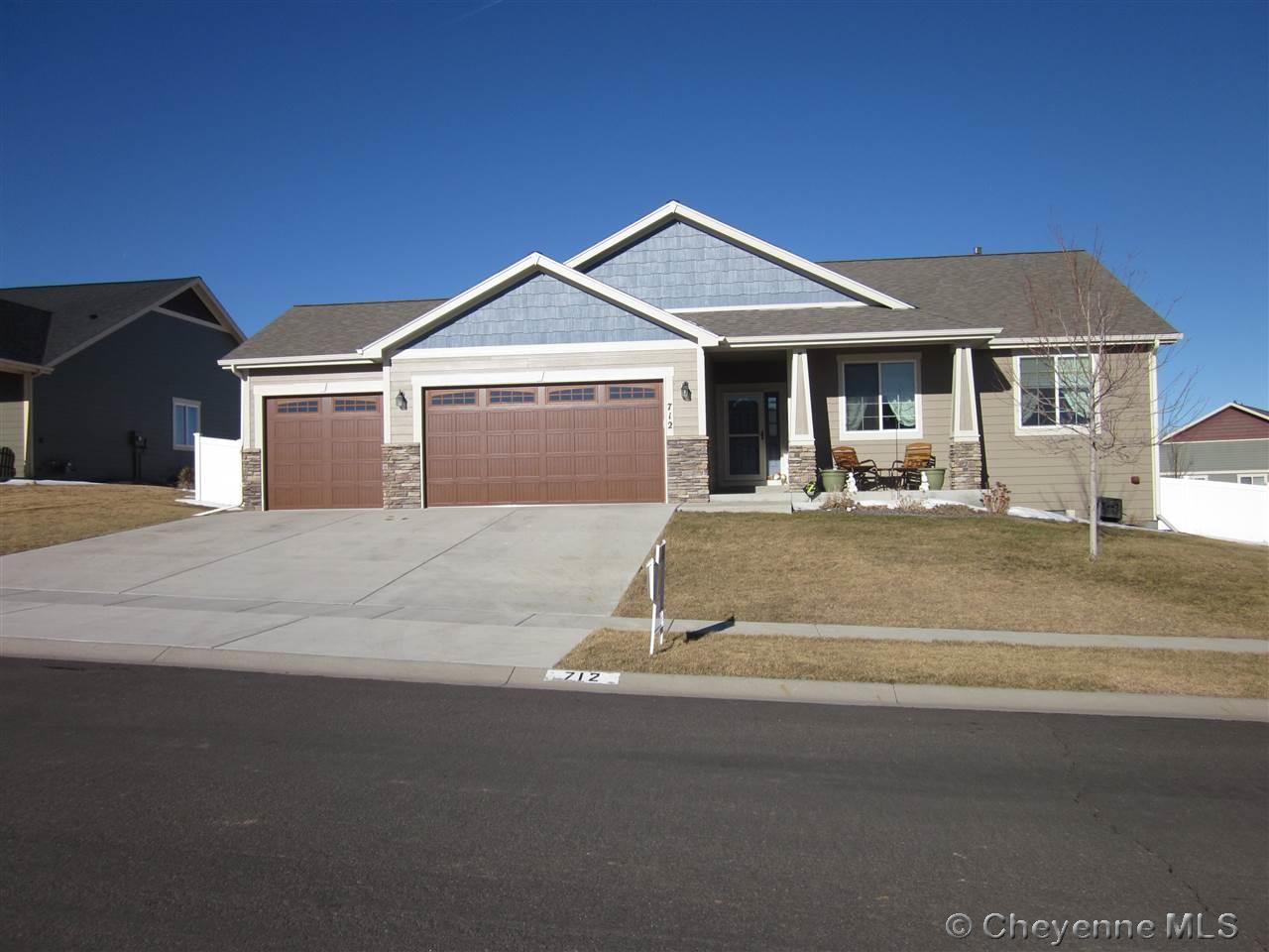 Single Family Home for Sale at 712 Gabriel Ct Cheyenne, Wyoming United States
