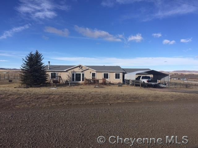Single Family Home for Sale at 1016 Road 110A Cheyenne, Wyoming United States