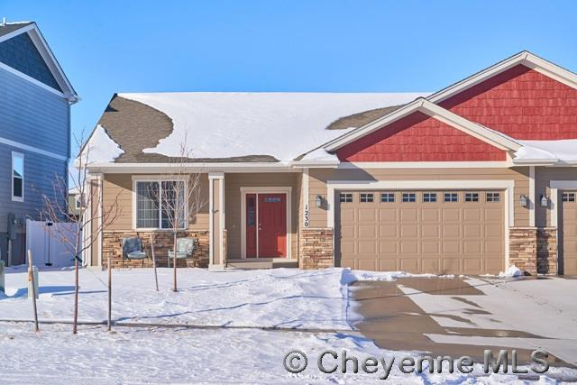 Single Family Home for Sale at 1230 Alyssa Way Cheyenne, Wyoming United States
