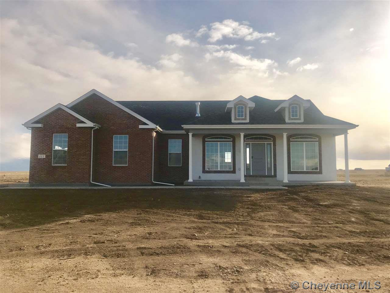 Single Family Home for Sale at Tract 18 Rocking H Dr Cheyenne, Wyoming United States