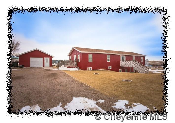 Single Family Home for Sale at 128 N Luther Ave Burns, Wyoming United States