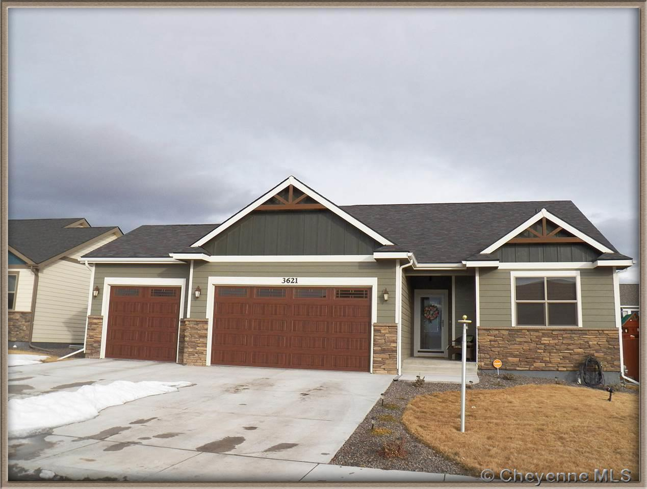 Single Family Home for Sale at 3621 Blue Sage Rd Cheyenne, Wyoming United States