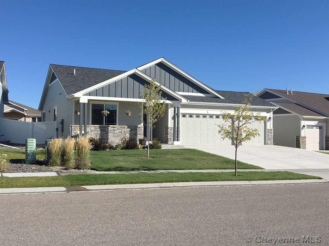 Single Family Home for Sale at 1220 Jessi Dr Cheyenne, Wyoming United States