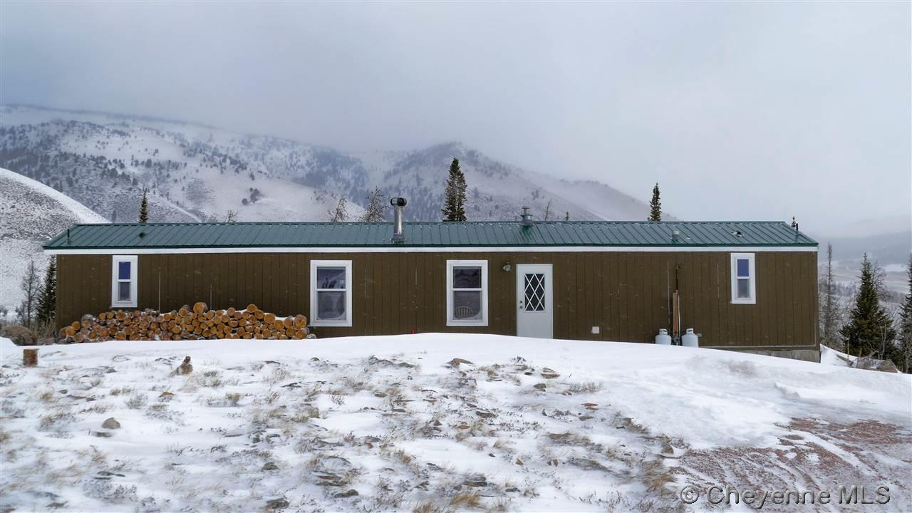 Single Family Home for Sale at 22 Corner Mountain Cir Centennial, Wyoming United States
