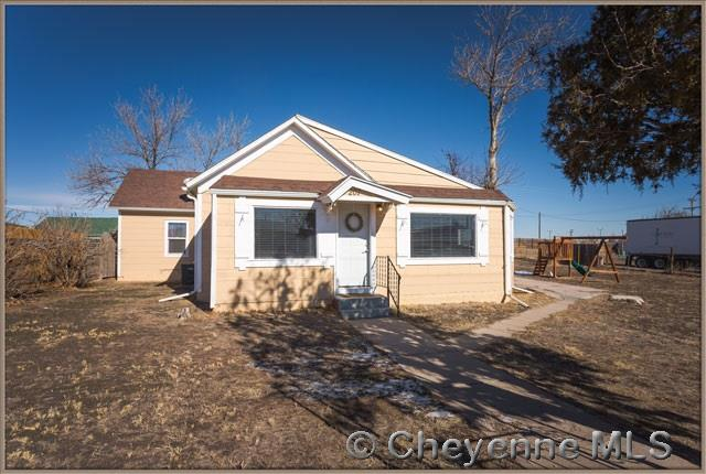 Single Family Home for Sale at 207 E 3rd St Pine Bluffs, Wyoming United States