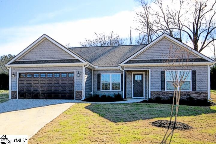308 Catterick Way,Fountain Inn,South Carolina 29644,3 Bedrooms Bedrooms,2 BathroomsBathrooms,Single Family (Detached),Catterick,1325954