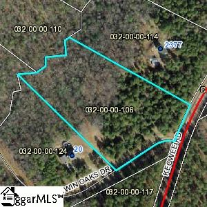 Twin Oaks Drive, Honea Path, SC 29654