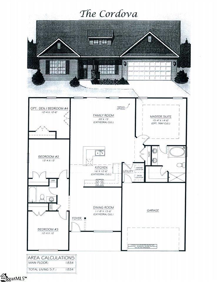136 Hawk Ridge Drive,Anderson,South Carolina 29621,4 Bedrooms Bedrooms,2 BathroomsBathrooms,Single Family (Detached),Hawk Ridge,1337655