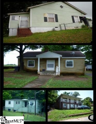 Package of 4 Single Family Homes Street, Anderson, SC 29624