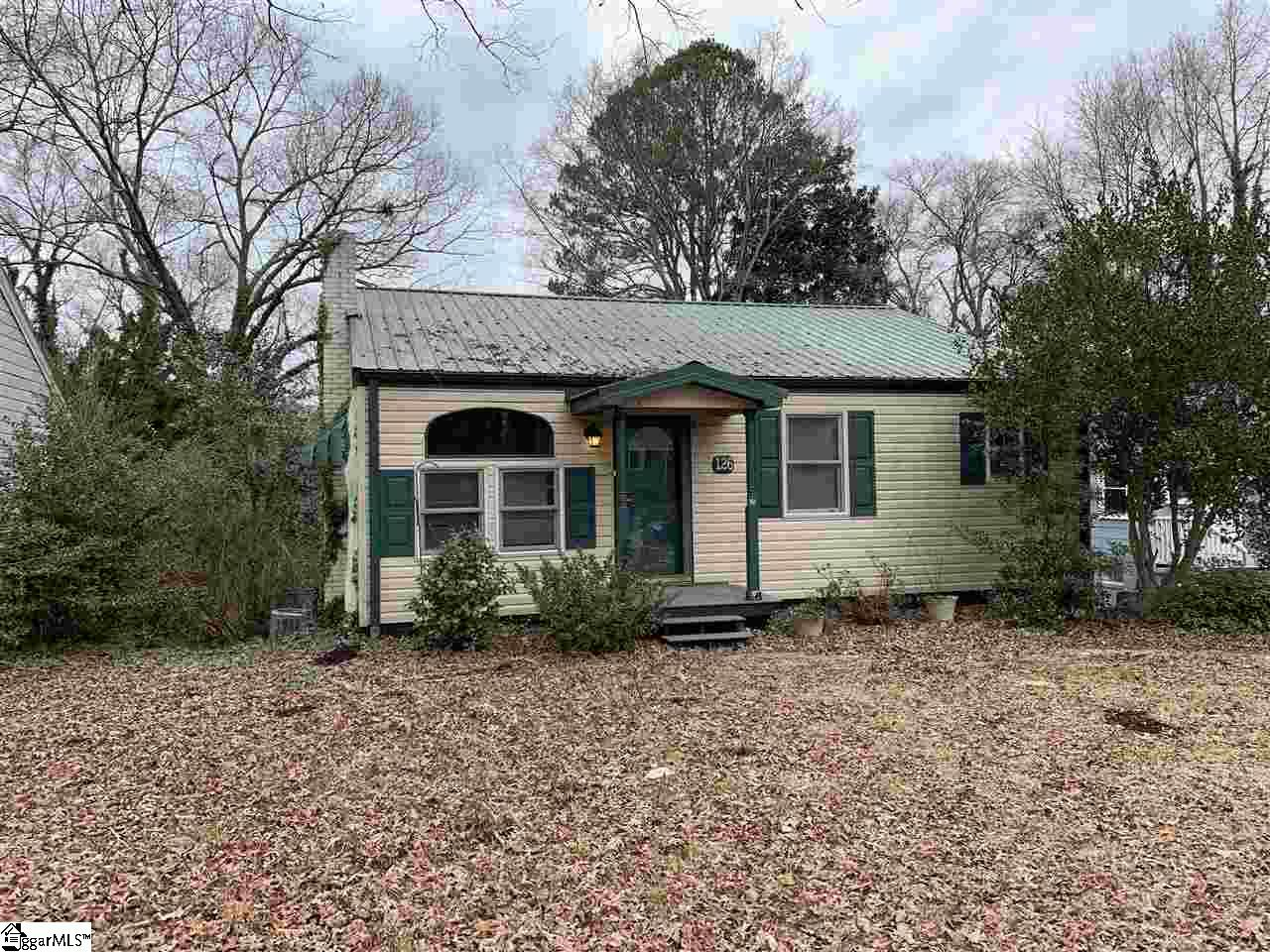 126 White Oak Road, Spartanburg, South Carolina 29301, 3 Bedrooms Bedrooms, ,1 BathroomBathrooms,Single Family (Detached),For Sale,White Oak,1411812