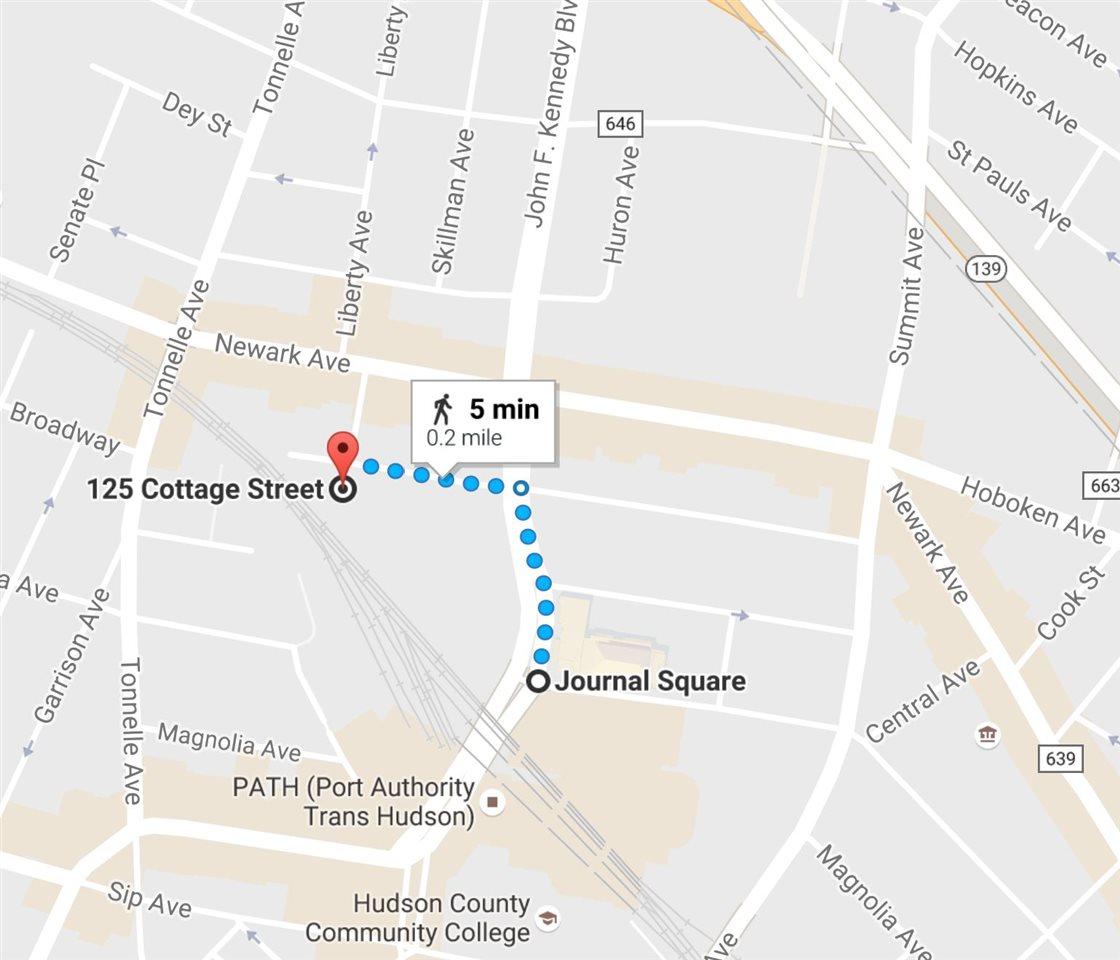 127 COTTAGE ST, JC, Journal Square, NJ 07306
