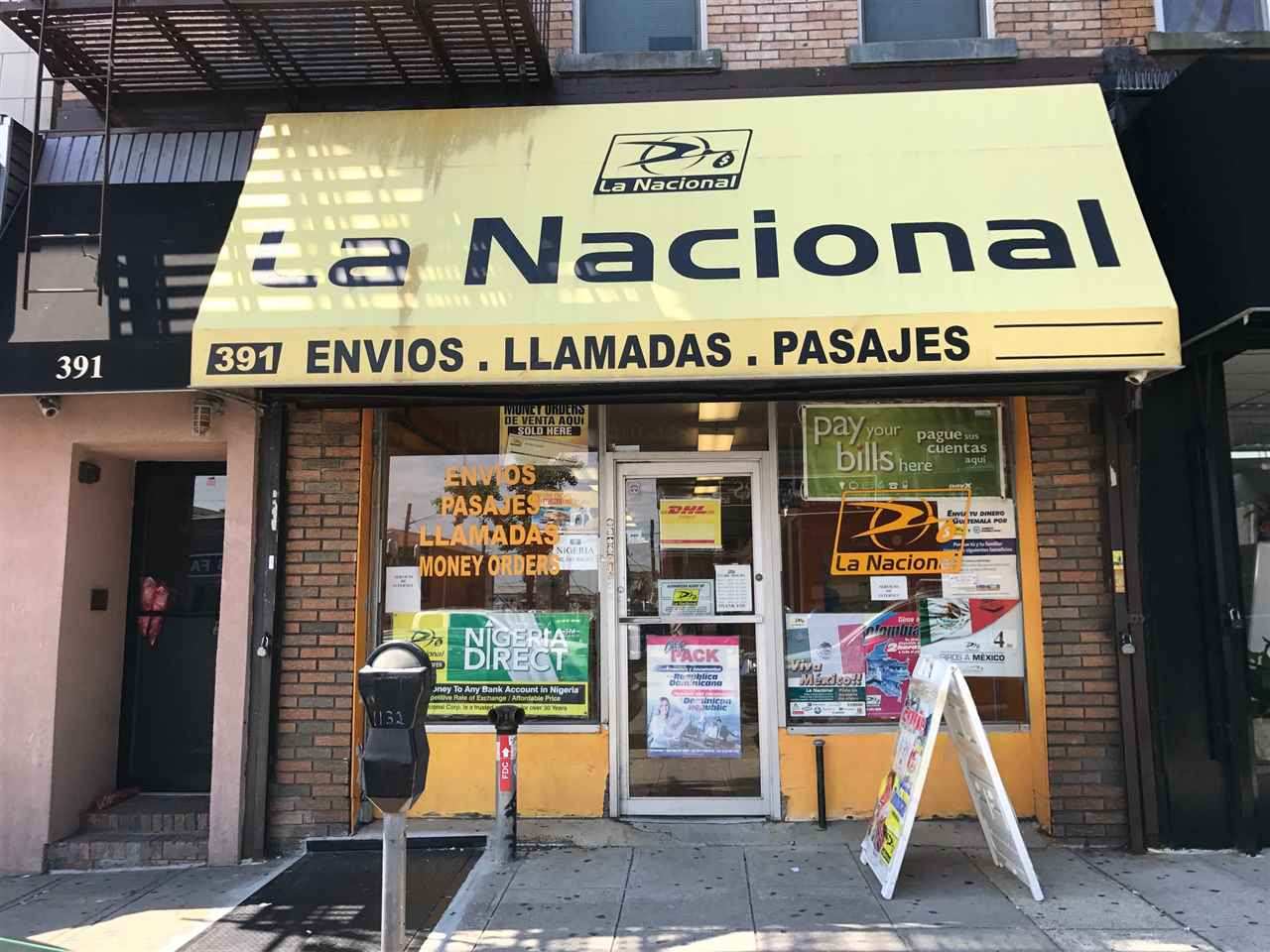 391 CENTRAL AVE StoreFront, JC, Heights, NJ 07307