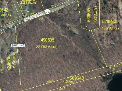 Land for Sale at HOLMES Road HOLMES Road Pawling, New York 12531 United States