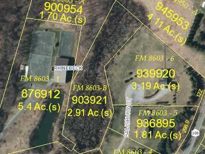 Land for Sale at ROUTE 308 REAR ROUTE 308 REAR Rhinebeck, New York 12572 United States