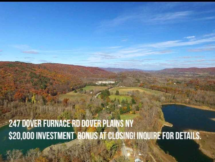 Single Family Home for Sale at 247 DOVER FURNACE Road 247 DOVER FURNACE Road Dover Plains, New York 12522 United States