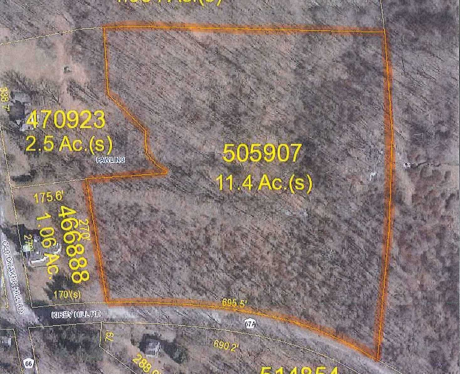 Land for Sale at KIRBY HILL Road KIRBY HILL Road Pawling, New York 12564 United States