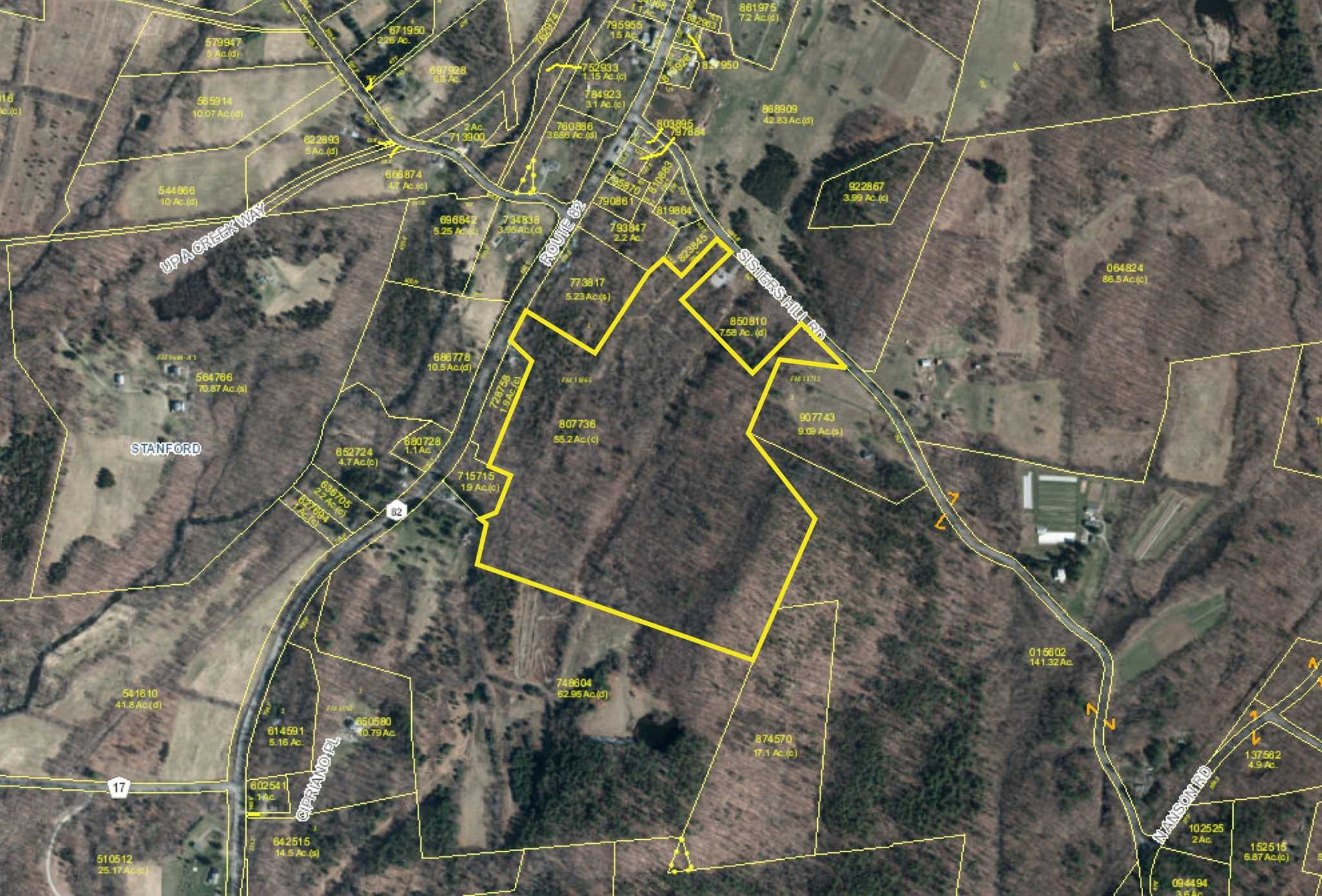 Land for Sale at ROUTE 82 ROUTE 82 Stanfordville, New York 12581 United States