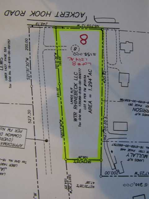 Land for Sale at ACKERT HOOK ROAD LOT ACKERT HOOK ROAD LOT Rhinebeck, New York 12572 United States