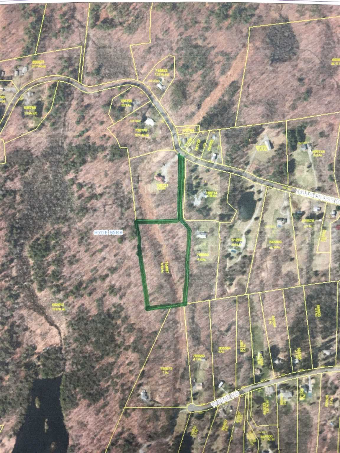 Land for Sale at 244 MILLS CROSS Road 244 MILLS CROSS Road Hyde Park, New York 12580 United States