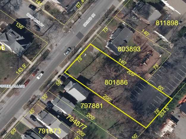Land for Sale at 42 BROAD Street 42 BROAD Street Fishkill, New York 12524 United States