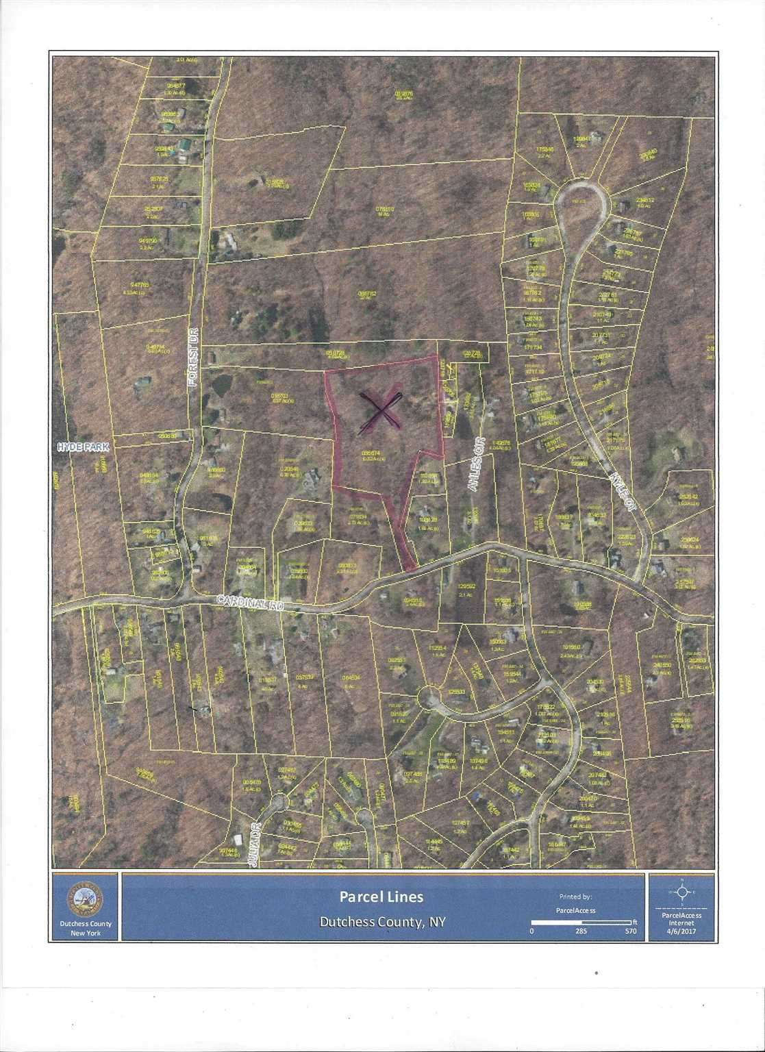 Land for Sale at 141 CARDINAL ROAD 141 CARDINAL ROAD Hyde Park, New York 12538 United States