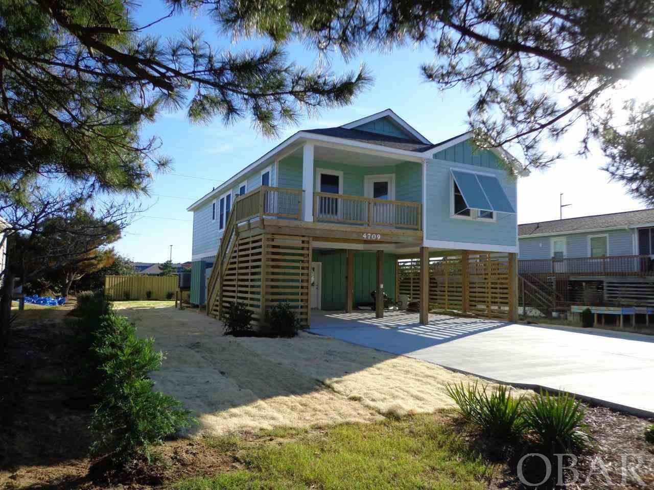 4709 Pompano Court, Nags Head, NC 27959, 4 Bedrooms Bedrooms, ,3 BathroomsBathrooms,Residential,For sale,Pompano Court,101601