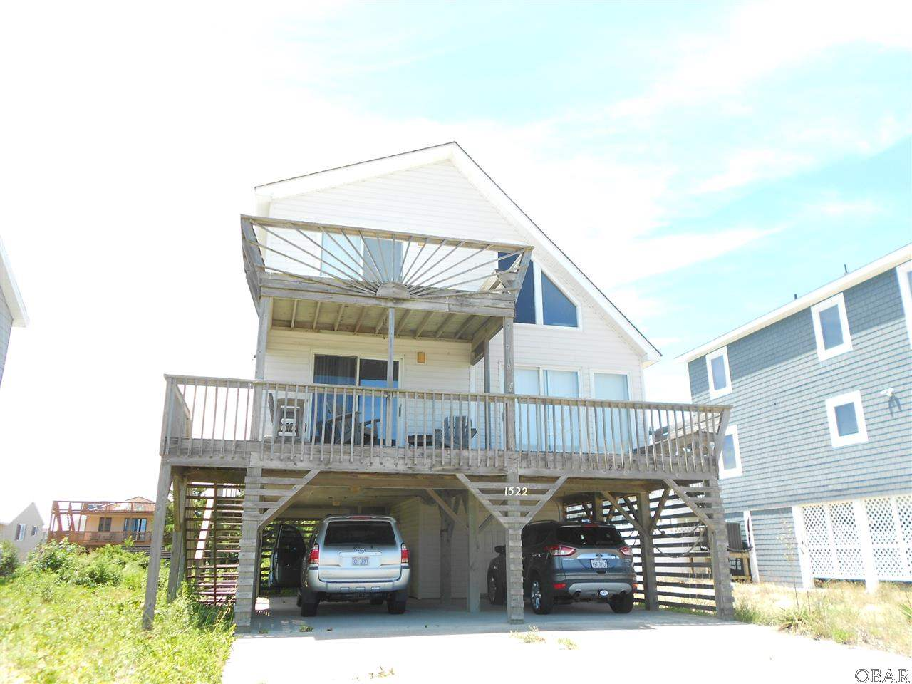1522 Virginia Dare Trail,Kill Devil Hills,NC 27948,3 Bedrooms Bedrooms,2 BathroomsBathrooms,Residential,Virginia Dare Trail,84435