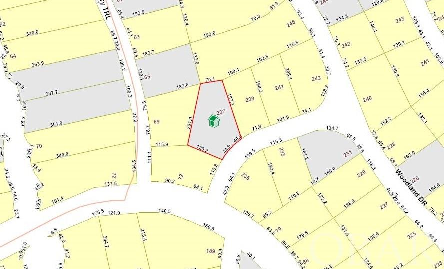 237 Woodland Drive Lot 77, Southern Shores, NC 27949