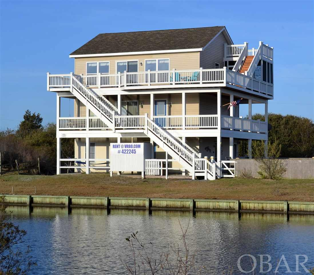 Hatteras Island Canalfront Property For Sale