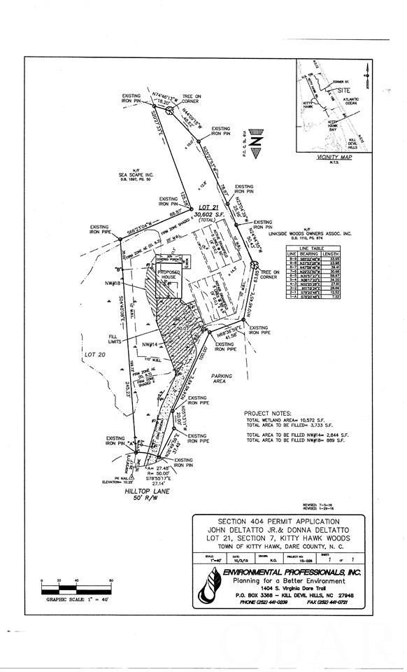 4524 Hilltop Lane lot 21, Kitty Hawk, NC 27949