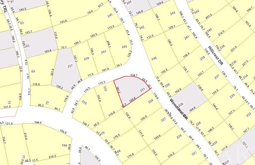 231 Woodland Drive Lot 38, Southern Shores, NC 27949