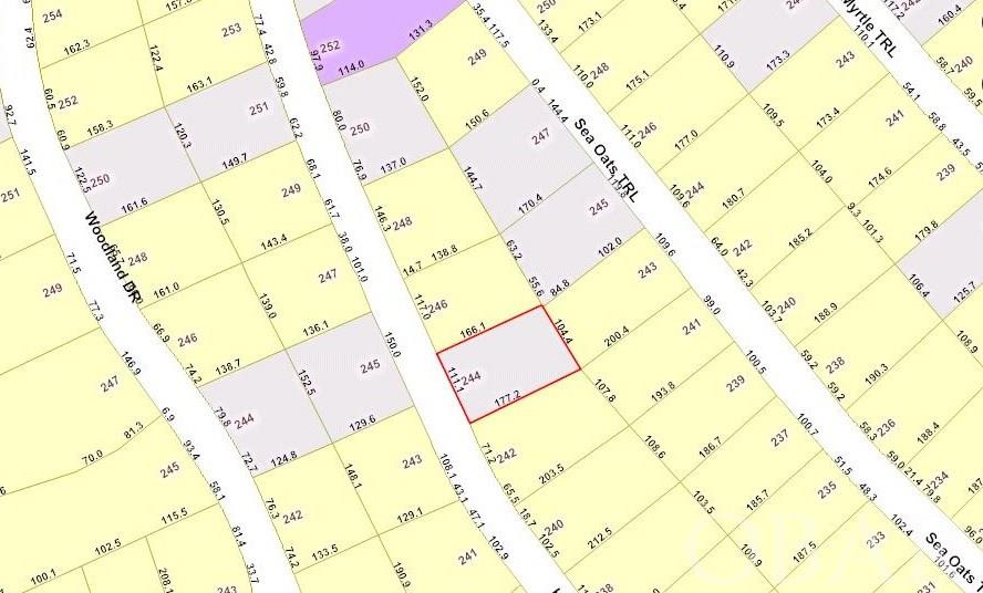 244 Hillcrest Drive Lot 24, Southern Shores, NC 27949